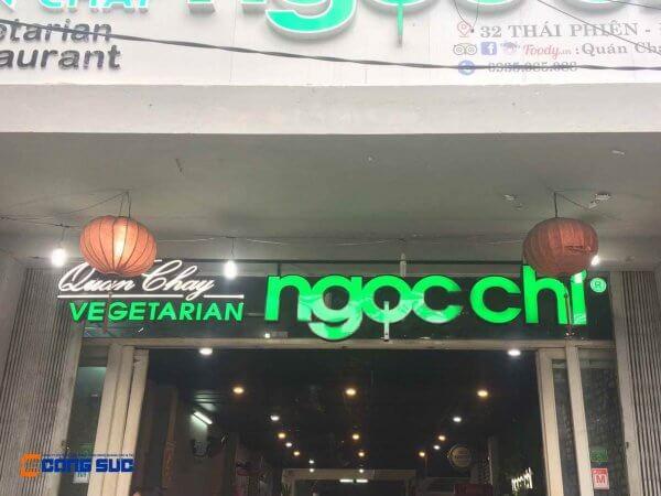 bien quang cao quan chay ngoc chi da nang 1 600x450 - Công Trình Quảng Cáo, Nội Thất Nổi Bật 2019