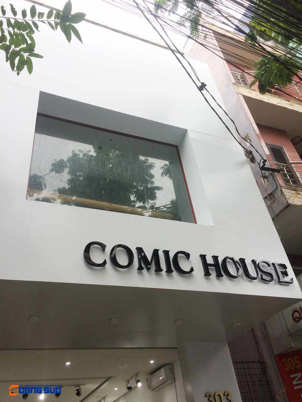 IMG 5581 - CÔNG TRÌNH QUẢNG CÁO MẶT DỰNG ALU COMIC HOUSE