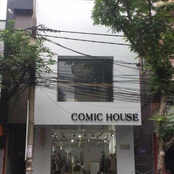 CÔNG TRÌNH QUẢNG CÁO MẶT DỰNG ALU COMIC HOUSE