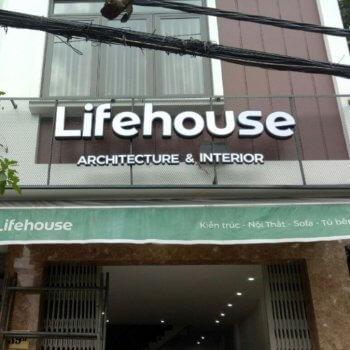 Công trình quảng cáo Life House