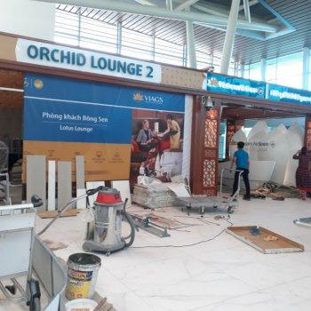 SÂN BAY ĐÀ NẴNG: Công Trình Phòng Orchid Lounge 2 Nhà ga T2 – Cảng hàng không Quốc tế Đà Nẵng